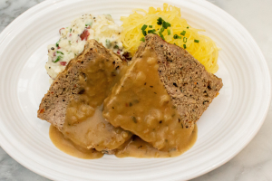 All Natural Turkey Meatloaf with Gravy - delivery menu