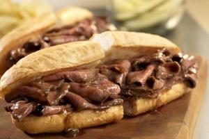 Roast Beef Sandwich - delivery menu