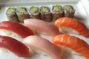 Tri Color Sushi Lunch Special - delivery menu