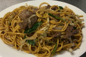303. Beef Chow Mein - delivery menu