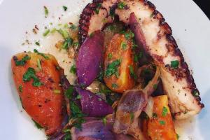 Grilled Mediterranean Octopus - delivery menu