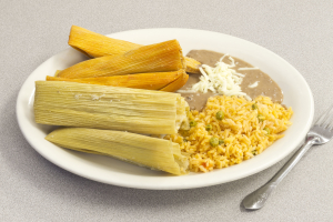 Tamale Plate - delivery menu
