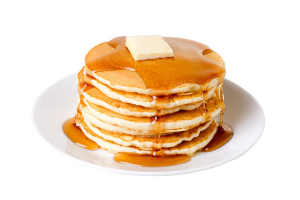 Stack of 3 Pancakes - delivery menu