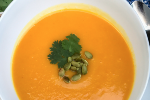 Homemade Butternut & Carrot w/ Corriander Soup **Vegan** - delivery menu