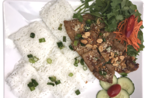 BH4. Banh Hoi Thit Heo Nuong - delivery menu