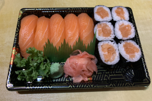 Salmon Sushi Dinner Combo Special - delivery menu