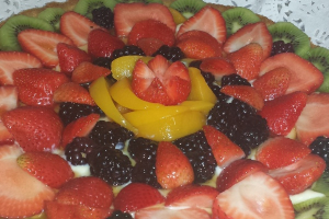 Fresh Fruit Tarts - delivery menu