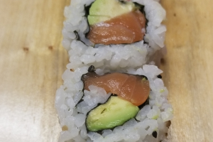 Salmon and Avocado Roll - delivery menu