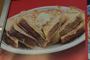 3 French Toast with Butter and Syrup - delivery menu
