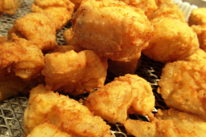 Fried Fish Nuggets  {Chicken (of the seas:) Nuggets} - delivery menu