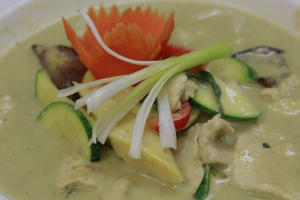 Green Chicken Curry - delivery menu