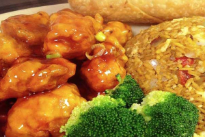 Hot Braised Pork Combination Plate - delivery menu