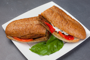 #16 Fried Eggplant Sandwich - delivery menu
