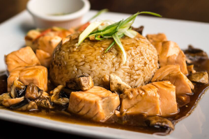 Salmon Chunks - delivery menu
