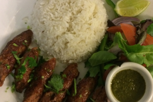 Lamb Seekh Kabob - delivery menu