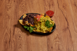 35. Guacamole Nachos - delivery menu