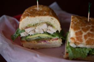 Pollo Verde Sandwich  - delivery menu