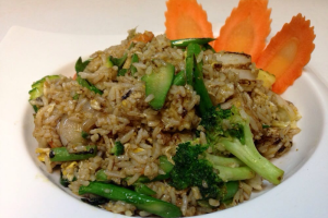 Green Curry Thunder Fried Rice - delivery menu