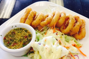 Fried Calamari Ring - delivery menu