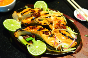 H6. Ca Salmon Nuong - delivery menu