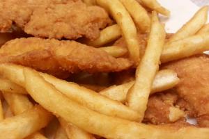 Chicken Finger Dinner - delivery menu