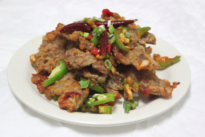 Salt and Pepper Pork Chop - delivery menu