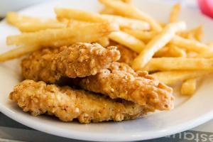 4 Piece Chicken Tender Plates - delivery menu