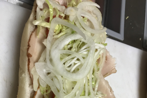 Turkey Hoagie with Cheese - delivery menu