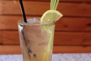 Lemongrass Ginger Iced Tea - delivery menu