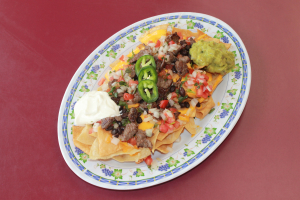 Pork Nachos - delivery menu