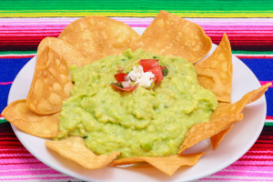 Guacamole con Chips - delivery menu
