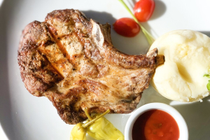 Grilled Pork Chop Bonoless - delivery menu