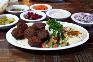 Falafel Platter - delivery menu