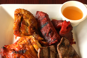 99. BBQ Combo - delivery menu