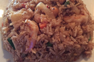 Pineapple Fried Rice Entree - delivery menu