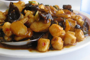 Curry Shrimp Scallop - delivery menu