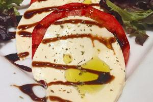 Tomato and Fresh Mozzarella - delivery menu
