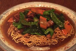 Double Pan-Fried Egg Noodles - delivery menu
