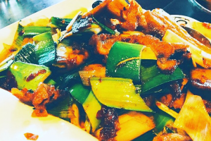 401. Twice Cooked Pork Szechuan Style - delivery menu