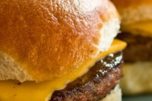 Burger Sliders - delivery menu
