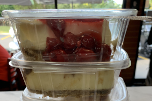 Cheesecake--Flavored - delivery menu