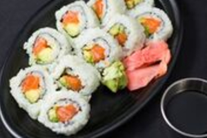Salmon Avocado Roll - delivery menu