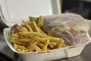 Super Beef Dinner - delivery menu