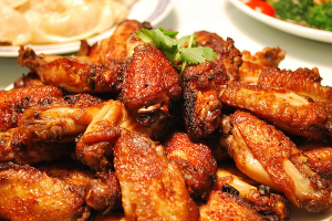 6. Fried Chicken Wings - delivery menu