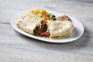 Burrito Dinner  - delivery menu
