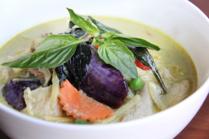 Green Curry Eggplant - delivery menu