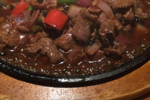 100. Sizzling Beef - delivery menu