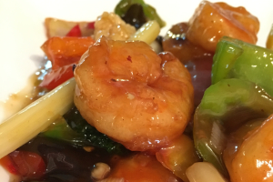 Shrimp with Garlic Sauce - delivery menu