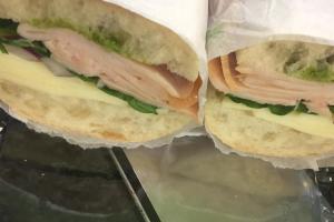 Smoked Turkey Sandwich - delivery menu