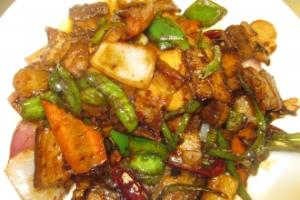K3. Szechuan Twice Cooked Pork - delivery menu